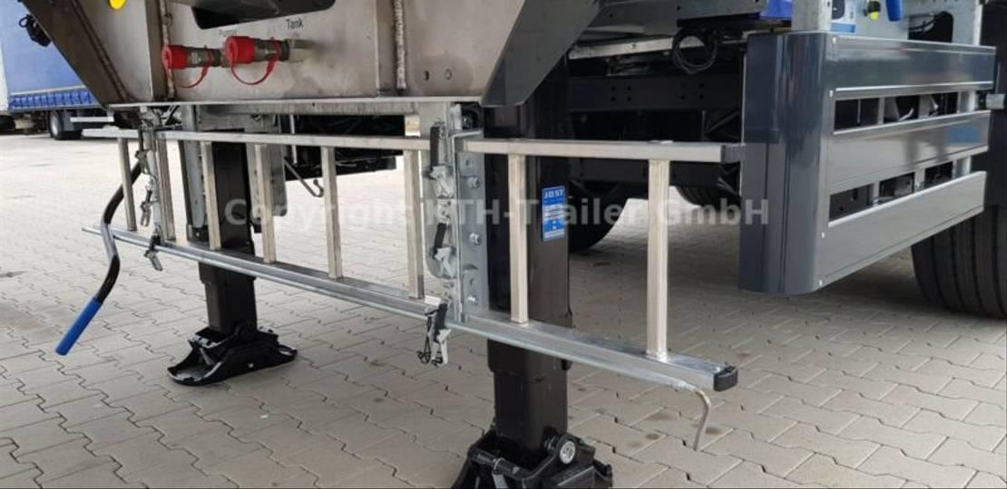 Walking floor Auflieger DIV. H&W AGRAR 70 m³, 2x LENKACHSE  MIETE MÖGLICH