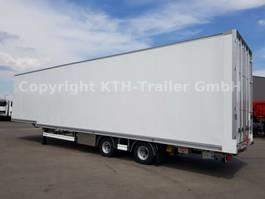 closed box semi trailer Talson Air Cargo-Luftfracht-Aircargo-Rollenbett MEGA