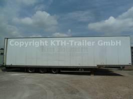 closed box semi trailer Talson TAG Luftfracht Aircargo Rollenbett ISO MIETE?