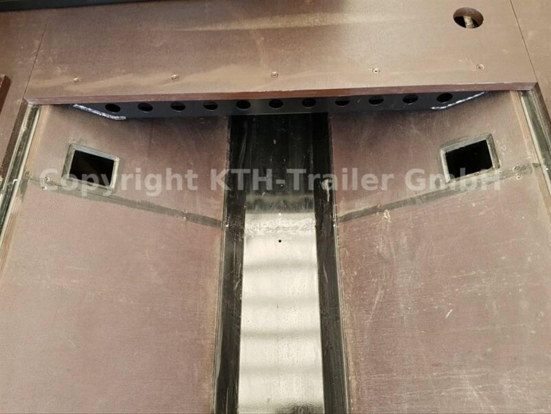 Schiebeplanenauflieger Kaessbohrer Coil Transporter Curtainsider Typ SCC X+