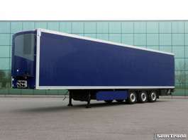 refrigerated semi trailer Krone 3-AS KOEL VRIES LIFTAS  2.5 TONS KLEP  275 CM  HOOG  THERMO KING 2012
