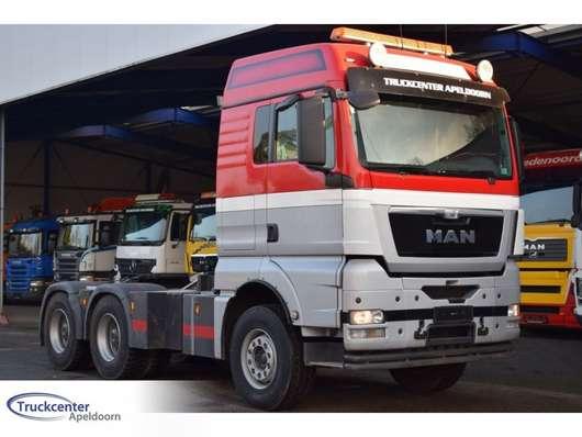 Тягачи стандарт MAN TGX 26.540 6x4, Manuel, Big axle, Crane frame, Truckcenter Apeldoorn 2013