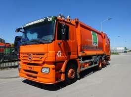 garbage truck Mercedes Benz ACTROS 2632 6 X 2 EURO 5 !! 2008