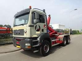 camião de contentores MAN TGA 33.430 6 X 4 !! MANUAL GEARBOX + KEURING !! TUV !! 2006