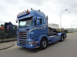 camião de contentores Scania R 420 6 X 2 + HOOKSYSTEM !! NEW CONDITION !! 2012