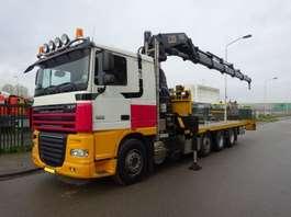 crane truck DAF 105 XF 410 8 X 2 + HIAB 600 HIPRO 2007
