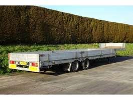 semi lowloader semi trailer Veldhuizen Semi-dieplader oplegger 2007