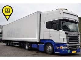 mega-volume tractorhead Scania R440 EURO6 + GROENEWEGEN 3-AS DUBBELSTOCK 2013