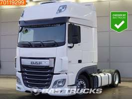 tracteur convoi exceptionnel DAF XF 460 4X2 2x Tanks Mega Standklima ACC SSC Euro 6 2016