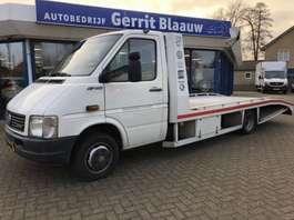 rampe de chargement – véhicule utilitaire léger porte-voitures Volkswagen LT46 2.5 TDI - Oprijwagen , Airco , cruise, lier 2000