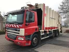 garbage truck DAF 75CF 310 EURO 5 6X2 2007