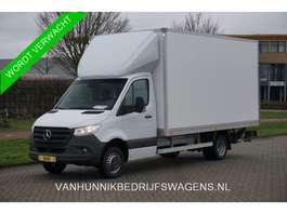 samochód dostawczy ze skrzynią zamkniętą Mercedes Benz Sprinter 516 CDI Bakwagen 3.5T Automaat Dhollandia Laadklep, Airco, Navi... 2020