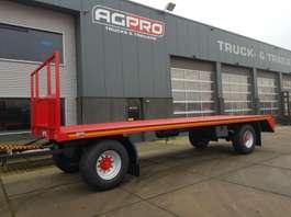 drop side full trailer agpro 2AS BLADGEVEERD 2020