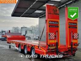 lowloader semi trailer Ozsan Ausziehbar Bis: 18m85 SAF Rampen Liftachse Lenkachse 2018