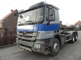 camião de contentores Mercedes Benz Actros 2641L Containersysteem 2010