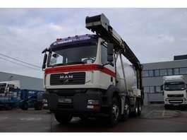camion à bétonnière MAN TGA 32.360 BB+LIEBHERR 8M3+TAPIS 2007