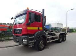 camião de contentores MAN TGS 33.400 6 X 4 !! EURO 5 !! MANUAL GEARBOX !! 2010