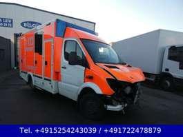 ambulans samochód dostawczy Mercedes Benz Sprinter 516 Krankenwagen Rettungs Liege Euro 6