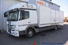 camion bisarca Mercedes Benz Atego 822 geschlossener Autotransporter 1. Hand 2012