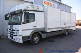 camion bisarca Mercedes Benz Atego 922 geschlossener Autotransporter 1. Hand 2012