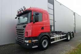 camion con telaio cabinato Scania G480 6X2 CHASSIS RETARDER STEERING AXLE EURO 5 2010