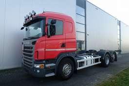 camion con telaio cabinato Scania G480 6X2 CHASSIS RETARDER STEERING AXLE EURO 5 2011