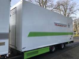 refrigerated trailer Draco MZS 218 LxBxH 810x250x300. Bloemen kar 2008