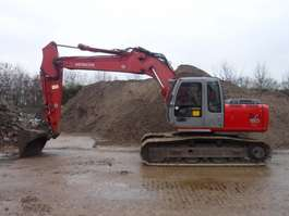 escavadora de rastos Hitachi 180 LC 2003