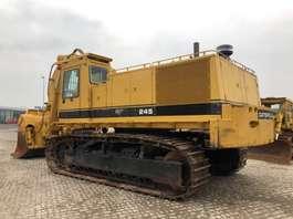 escavatore cingolato Caterpillar 245 Front Shovel only 978 hours 1988