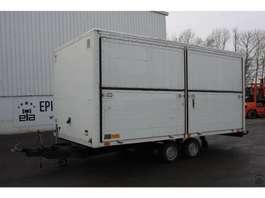 closed box car trailer Ligthart 1,3-1,3 RMAZ 2SX 1987