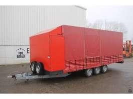 closed box car trailer E.s.v.e AWK 3500 2010