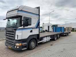 car transporter truck Scania R420 Retarder 6x2 Manual Combi 2006