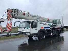 all terrain cranes Zoomlion QY35V 35 Ton 6x4 Hydraulic Truck Crane 2013