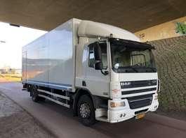 closed box truck DAF FA CF65 2010