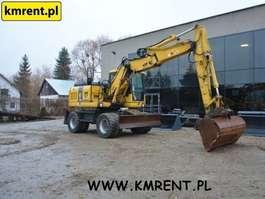 wheeled excavator Komatsu PW140-7 ROK 2010 I VOLVO EW140 JCB JS145 JS175 CAT M313 LIEBHERR A314 A3...