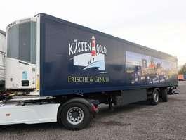 refrigerated semi trailer Schmitz Cargobull SKO 18 Frischdienst LBW Lenkachse 2005