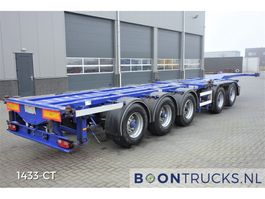 container chassis semi trailer D-Tec CT-53-05D | COMBITRAILER 20-30-40-45ft HC 2003