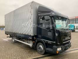 cassone chiuso lcv Iveco EuroCargo 75E  Euro 5 EEV 2013