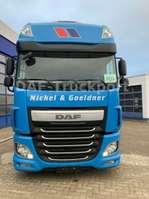 mega-volume tractorhead DAF FT XF Super Space  460  LOW DECK 2015