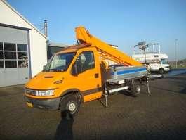 véhicule utilitaire léger avec plateforme de travail Iveco 35s13 23 METER BIZOCHI 2006