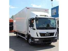 camião de caixa fechada MAN TGL 12.250  NIEUW!!!!!! 2019