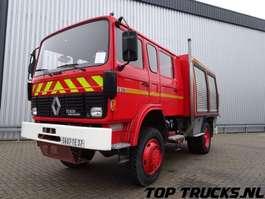 samochód strażacki Renault S170 - 4x4 fire brigade - brandweer - watertank 2.500 ltr. - pomp! 1991
