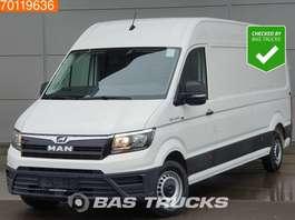 véhicule utilitaire léger fermé MAN TGE 3.140 2.0 TDI Airco 270° Deuren Lang Maxi L4H3 15m3 A/C 2018