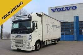camião com cortina deslizante Volvo FH420 Globetrotter XL/ACC/ALU/I-ParkCool/VEB+/Eu 2015