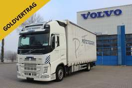 ciężarówka z plandeką-firaną Volvo FH420 Globetrotter XL/ACC/ALU/I-ParkCool/VEB+/Eu 2015