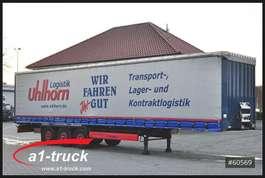 mega-volume semi trailer Krone SD, Tautliner, Liftachse, 1 Vorbesitzer, HU 03/2020 2012