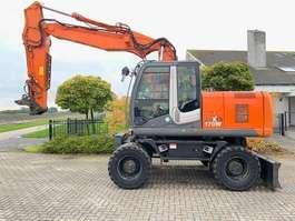 wheeled excavator Hitachi ZX 170 W-3 2008