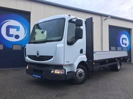 platform truck Renault MIDLUM 220 DXI 4x2 Open laadbak Euro 5 HANDGESCHAKELD-MANUAL Good condit... 2013