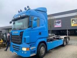 автошасси изменяемой конфигурации Scania R 480 6x2 Hooksystem 2011