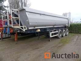 flatbed full trailer Meiller S00/400 2011